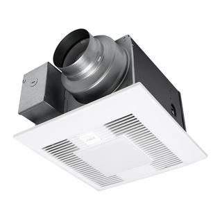 Whisper Green Select 50/80/110 CFM Ceiling Exhaust Bath Fan with LED Light, ENERGY STAR