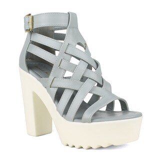 Mark and Maddux Women's 'Beck-12' Lug Sole Strappy Sandals