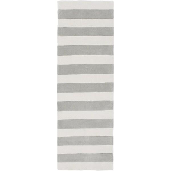 Hand-Tufted Copeland Stripe Area Rug (2'6 x 8')