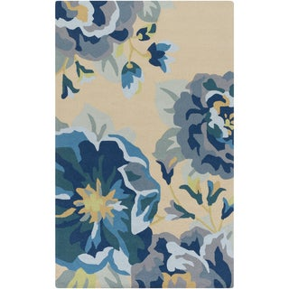 Hand-Hooked Deon Floral Rug (2' x 3'