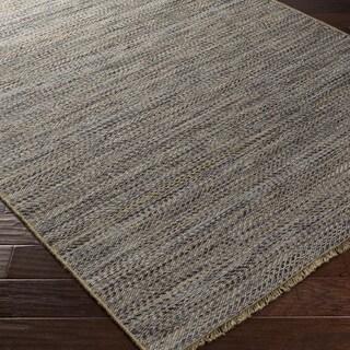 Hand-Woven Aileen Stripe Jute Rug (2' x 3')