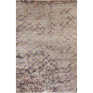 Hand-Knotted Arnav Animal Viscose Rug (9' x 13')|https://ak1.ostkcdn.com/images/products/10052452/P17196448.jpg?impolicy=medium