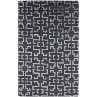 Hand-Knotted Angeline Geometric Indoor Area Rug