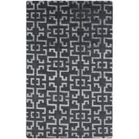 Hand-Knotted Angeline Geometric Indoor Area Rug - 9' x 13'