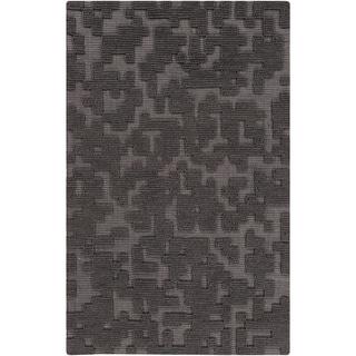Hand-Woven Albert Solid Wool Rug (8' x 11')