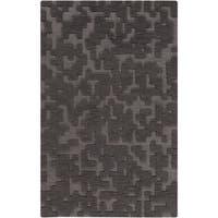 Hand-Woven Albert Solid Wool Area Rug