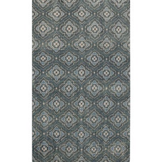 Hand-knotted Adyson Moroccan Trellis Wool Rug (9' x 13')