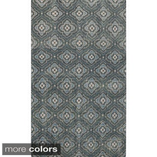 Hand-knotted Adyson Moroccan Trellis Wool Rug (8' x 11')