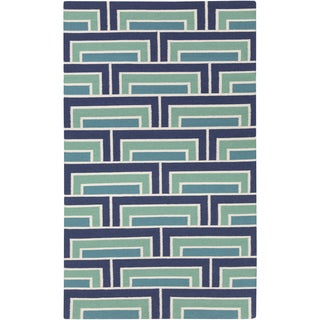 Hand-Woven Alexia Wool Rug (8' x 11')