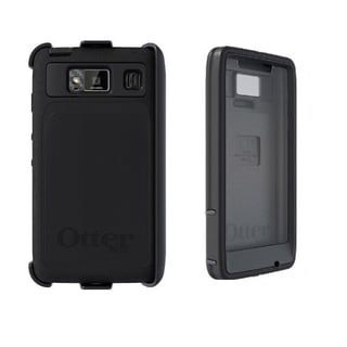 Otterbox Defender Series Case and Clip for Motorola RAZR HD - Black