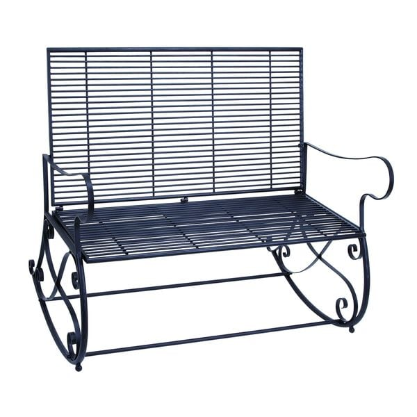 36 Inch Metal Patio Rocker Bench Free Shipping Today 17196533