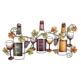 Metal Wine Wall Decor Feel Great