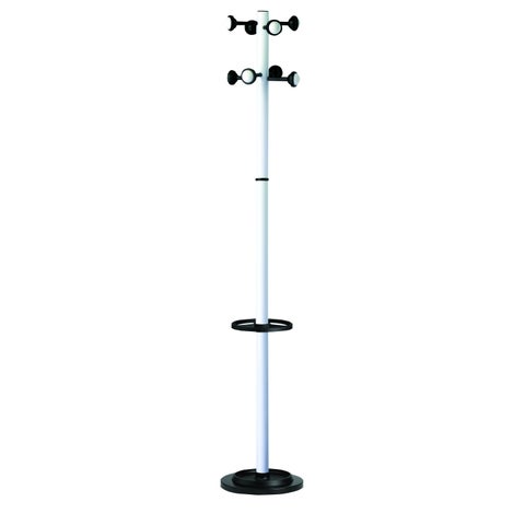 Kos Lighting Accueil White Coat Stand with Eight Pegs