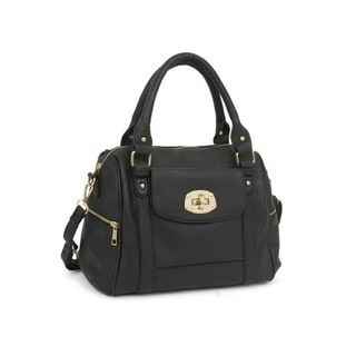 Rebecca and Rifka Faux Leather Satchel