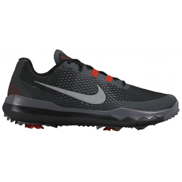 Nike Men's TW Golf Black/Red/Dark Grey/White Shoes