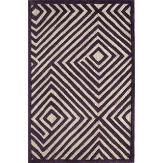 Amore 323 Purple Rug (5' x 7'6)
