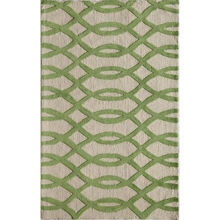 Amore 223 Green Rug (5' x 8')