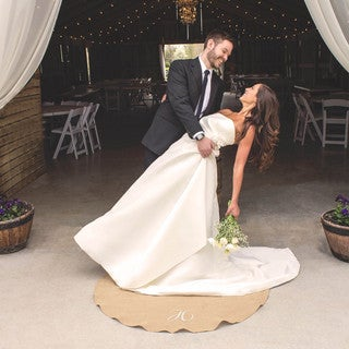 Personalized Keepsake Wedding Vow Rug