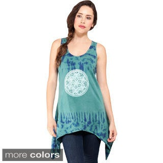 Women's Mandala Decal Tulip Dress (Nepal)