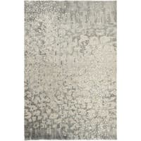 Hand-Knotted Giana Abstract Wool Area Rug (8' x 11')