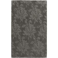 Hand-Loomed Fiona Solid Wool Area Rug - 9' x 13'