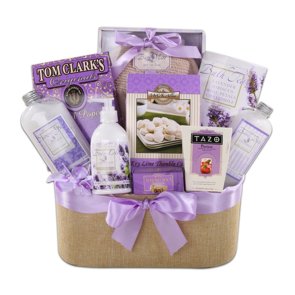 Alder Creek Mother's Day Ultimate Relaxation Gift Basket