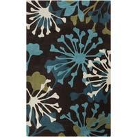 Hand-Tufted Elaina Floral Area Rug - 9' x 13'