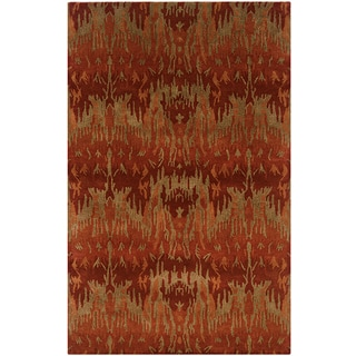 LNR Home Majestic Lr03846 Red Rug (2' x 8')
