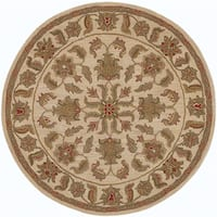 LR Home Shapes Lr10562 Ivory Round Rug
