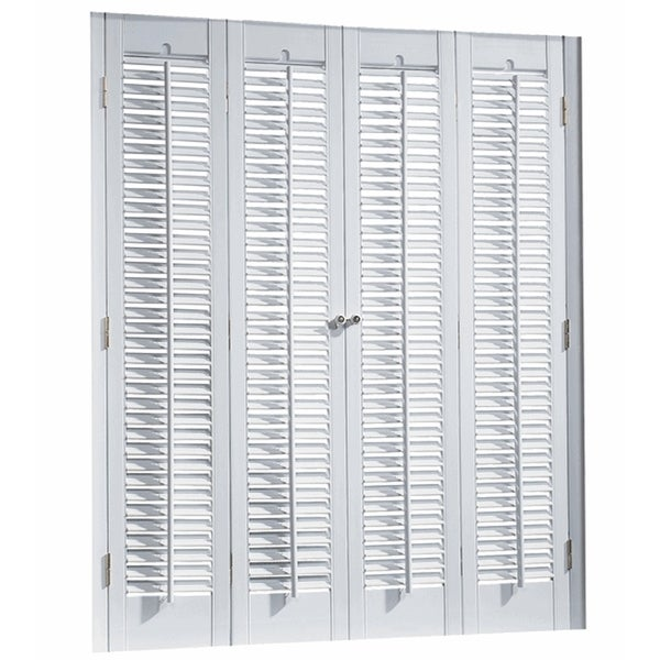 Shop Interior Shutter Kit 25 Inch Louver Free Shipping Today 10053177