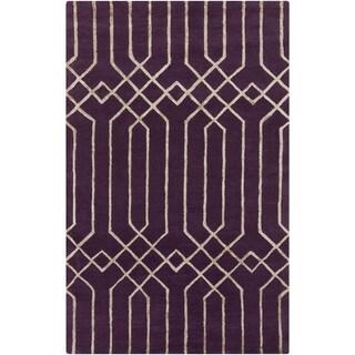 Hand-Tufted Howard Geometric Indoor Rug (2' x 3')