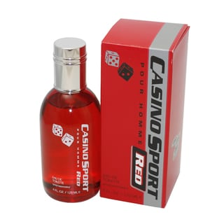 Casino Parfums Casino Sport Red Men's4-ounce Eau de Toilette Spray