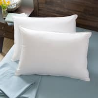 Hotel Madison 300 Ultra Cool Down Alternative Pillow (Set of 2) - White