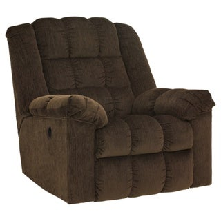 Signature Designs by Ashley Ludden Cocoa Power Rocker Recliner