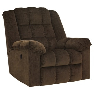 Ludden Contemporary Power Rocker Recliner Cocoa