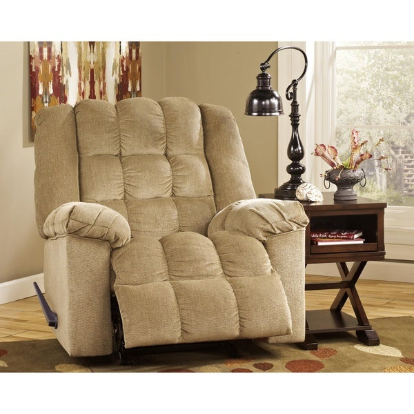 Ludden Contemporary Rocker Recliner Sand