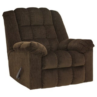 Ludden Contemporary Rocker Recliner Cocoa