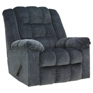 Signature Designs by Ashley Ludden Blue Rocker Recliner
