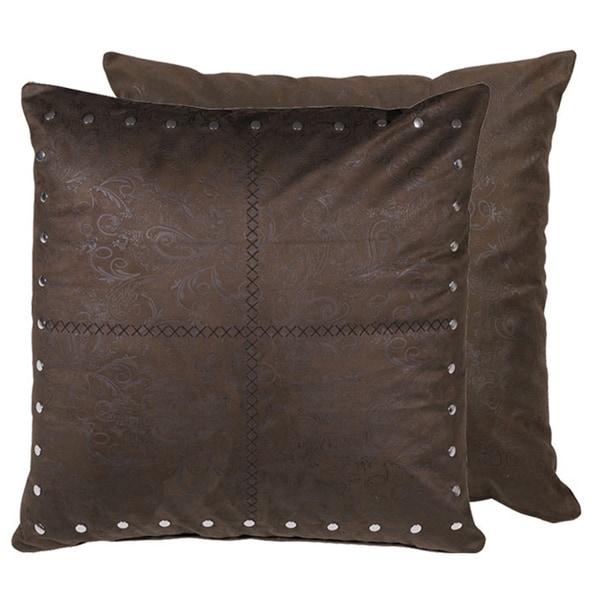 HiEnd Accents Tucson Euro Throw Pillow