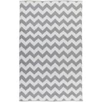 Hand-Woven Judah Chevron PVC Indoor/ Outdoor Area Rug