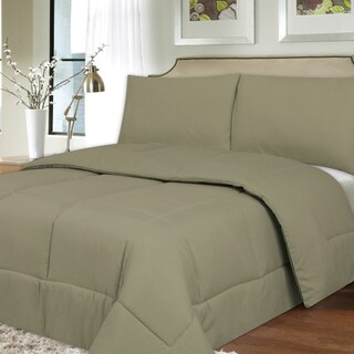 All Season Hypoallergenic Lightweight Down Alternative Comforter (Option: Sage - Twin)