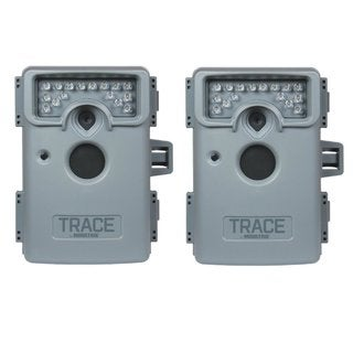Moultrie MCS-12639 Trace 8MP Premise Surveillance Security Camera (2-Pack)
