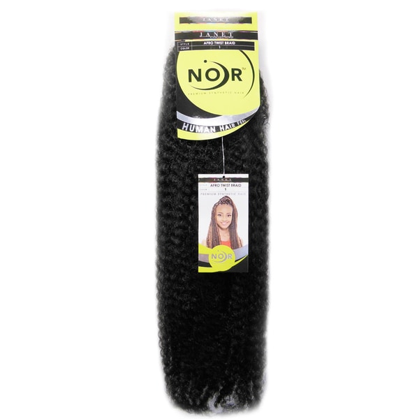 Janet Collection Noir Premium Synthetic Hair Afro Marley