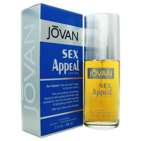 Jovan Sex Appeal Men's 3-ounce Eau de Cologne Spray