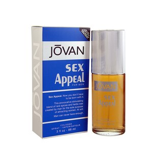 Jovan Sex Appeal Men's 3-ounce Eau de Cologne Spray