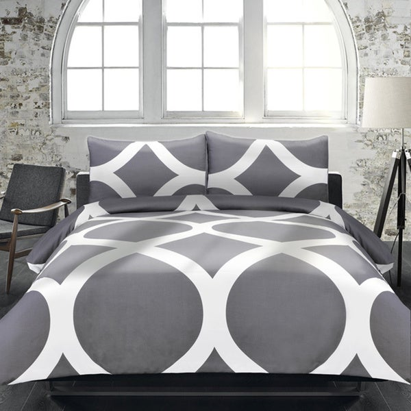 Adrien Lewis Manhattan 3-piece Duvet Cover Set