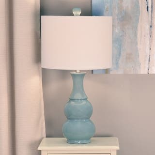 26.5-inch Light Green Table Lamp|https://ak1.ostkcdn.com/images/products/10053598/P17197461.jpg?impolicy=medium