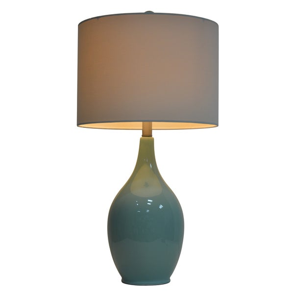 27-inch Ceramic Table Lamp