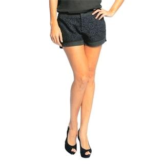 Sara Boo Women's Lace Shorts