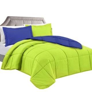 Clara Clark Down Alternative Reversible Comforter Set